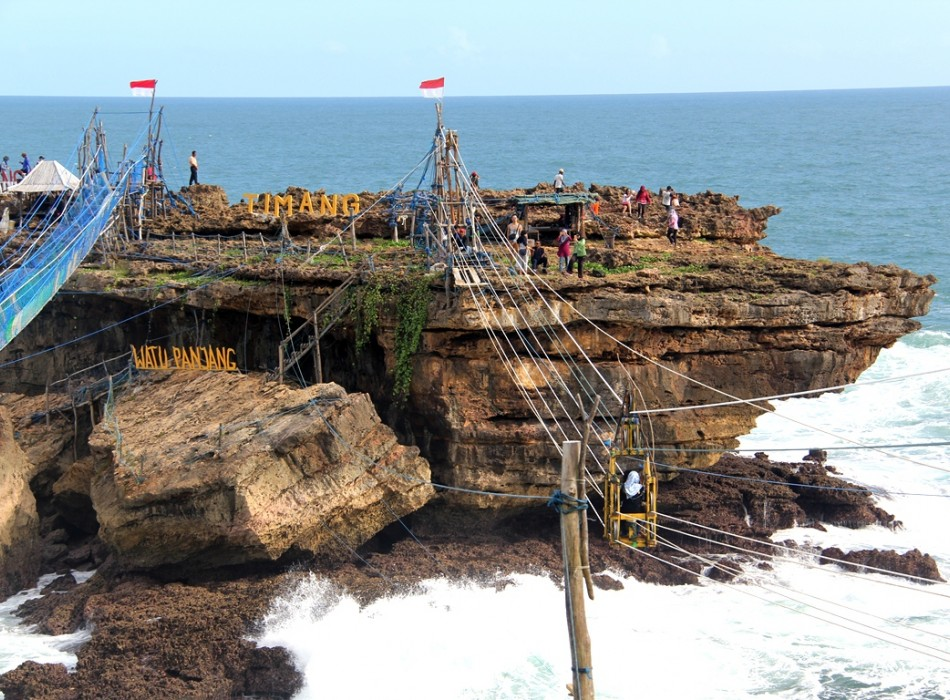 Pindul & Jomblang Cave Adventure with Timang Island Gondola Ride