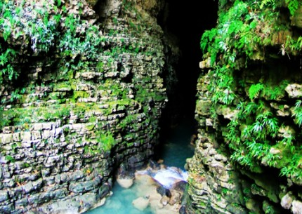 Jomblang Vertical Cave combined with Kalisuci Cave Tubing