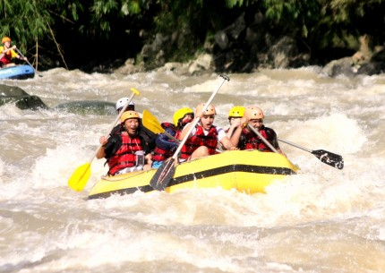 4 Days Jomblang Cave and Borobudur White River Rafting Adventures