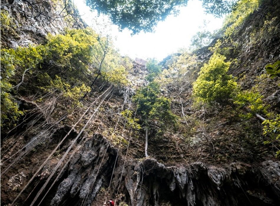 Jomblang Cave Tour from Yogyakarta