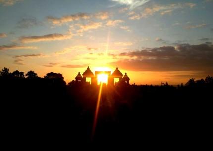 Fullday Tour To Merapi Jeep Sunrise Jomblang Cave & Ratu Boko Sunset