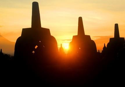 Borobudur Sunrise, Merapi Jeep Lava, Prambanan Temple Tour