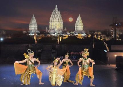 Prambanan Sunset combined with Ramayana Dance